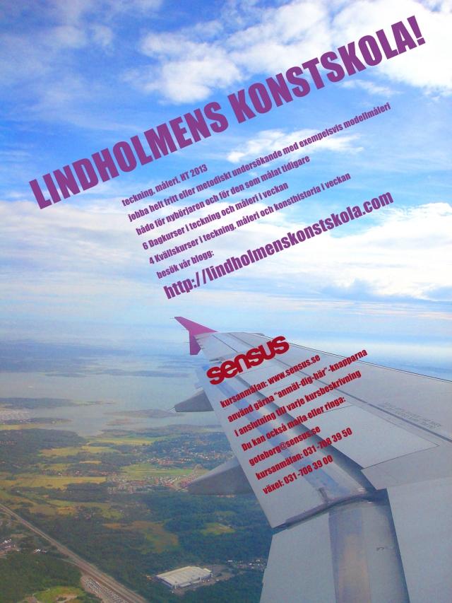 Lindholmens Konstskolas affisch77 HT 2013 copy