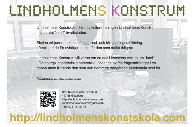 Lindholmens Konstrum ett singelt vykort till oss alla HT 2014