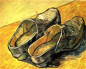 van Gogh a pair of clogs 1888