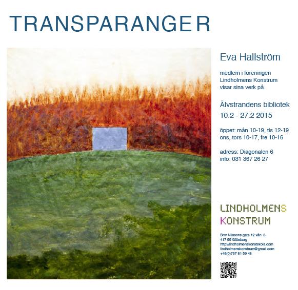 Eva Hallströms utställning 10 februari 2015 for blogg