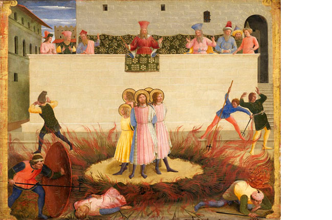 Fra Angelico Sts Cosmas and Damian and their Brothers surviving the Stake c144042.ashx